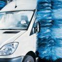 carwash, bestelwagen