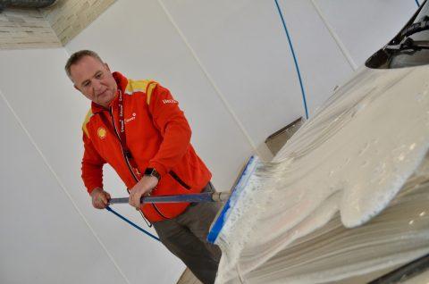 Druten, Shell, Carwash, wasbox, Marcel de Jong