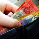 geld, portemonne, administratie, loon
