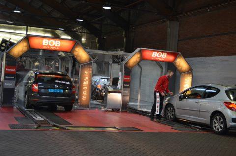 BOB Autowas, Schiedam, Carwash, Wasstraat