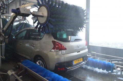 Hanex, Veghel, wasstraat, borstel, Peugeot