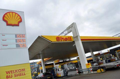 Shell, De Wetering, tankstation, carwash