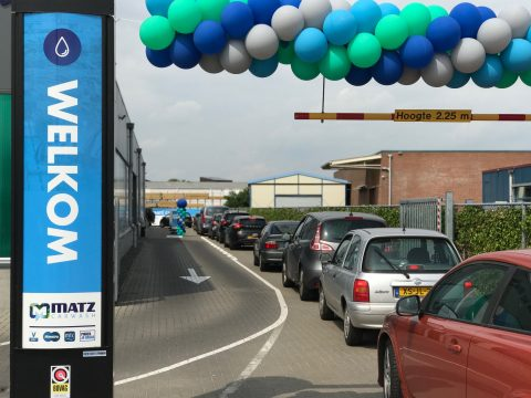 Matz carwash, Deventer, Martin Kniest