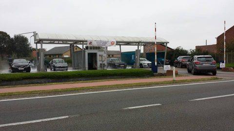 Carwash, Plas, Retie, Belgie