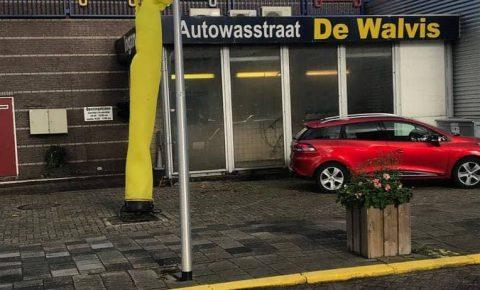 De Walvis, Delft, wasstraat