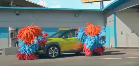 Hyundai, Kona, carwash
