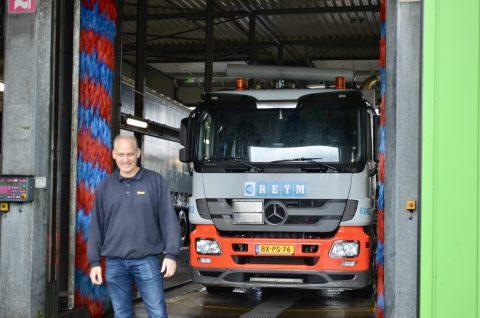 Klaus Broersma, Truckwash, Rotterdam