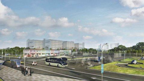 Volvo Bus, Singapore