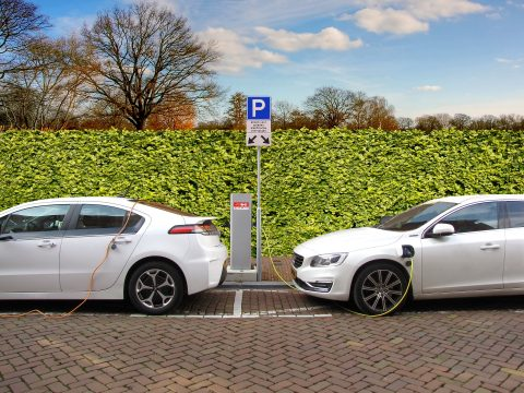 Laden, elektrische auto