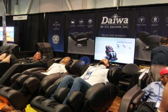 Daiwa, massagestoel