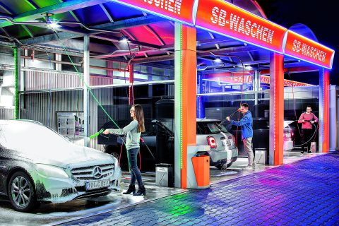 Christ, wasbox, carwash