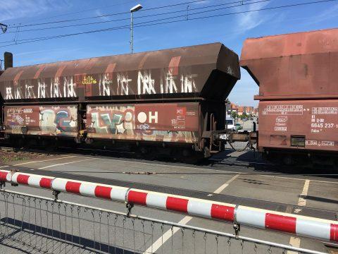 graffiti, België, trein, misdaad