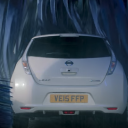 carwash, Nissan, EV, youtube