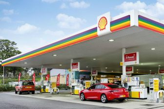 shell, gay pride, luifel, carwash