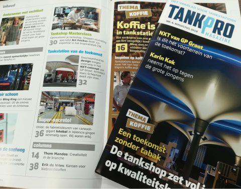Cover, magazine, Tankpro