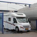 Camper wassen, Loogman, carwash, wasbox, camper, caravan
