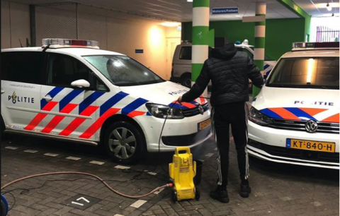 Bron politie Hoefkade